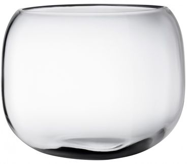 Nude Mono Box Vase M transparent – Bild 1