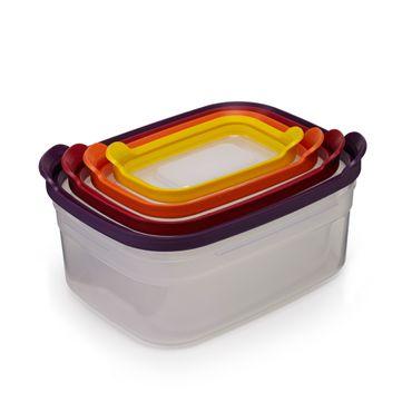 JosephJoseph Nest Storage Lebensmittelaufbewahrungs Set 4-teilig