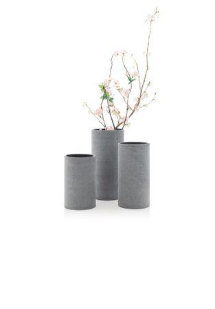 Blomus Vase Coluna S dunkelgrau – Bild 3
