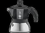 Bialetti Espressokocher Moka Induction 6 Tassen schwarz 001