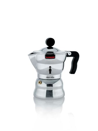 ALESSI Espressomaschine 3 Tassen Moka Alessi