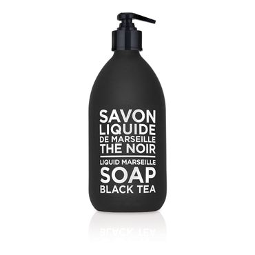 Liquid Marseille soap 500ml Black Tea – Bild 1