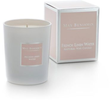 Max Benjamin French Linen Water Kerze