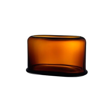 Nude Vase Layers Wide Amber – Bild 1