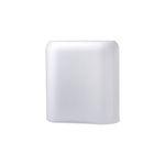 Nude Vase Layers Medium White