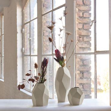Vase Carat -S-   creme matt – Bild 2