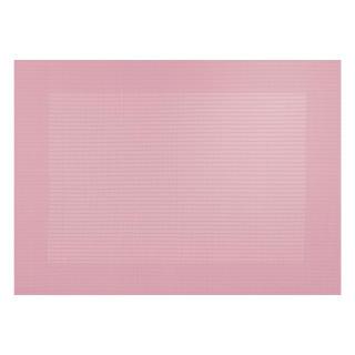 Tischset rosa mit gewebtem Rand 33x46cm von Asa