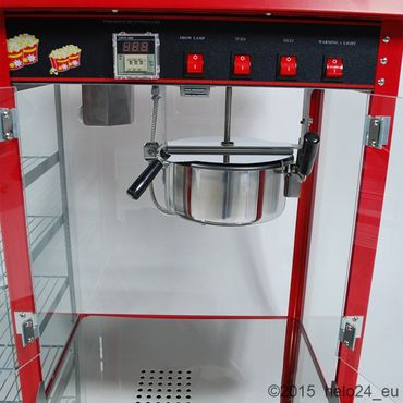 Prof Popcornmaschine XXL mit Regal ET-POP6A-D Popcorn Popcornautomat Kino Cinema – Bild 6