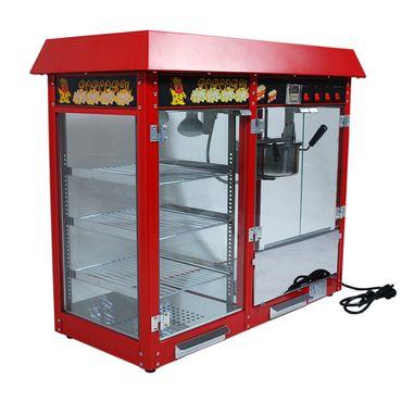 Prof Popcornmaschine XXL mit Regal ET-POP6A-D Popcorn Popcornautomat Kino Cinema