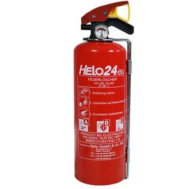Feuerlöscher versch. Typen 1kg/2kg/5kg/6kg/6L ABC ABF B Pulverlöscher CO2 Schaum – Bild 9