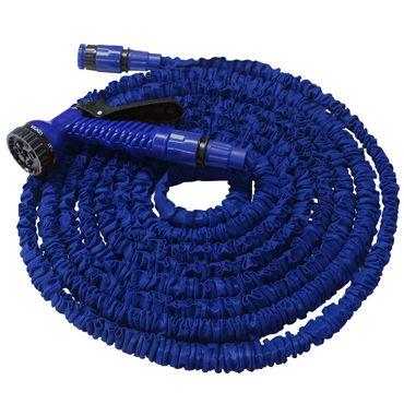 Flexibler Gartenschlauch Flexischlauch Schlauch 1 x blau 7,5 m EUR 1,26/m – Bild 1