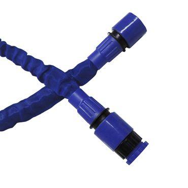 Flexibler Gartenschlauch Flexischlauch Schlauch 2 x blau 7,5m EUR 1,39/m – Bild 6