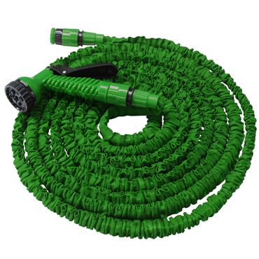 Flexibler Gartenschlauch Flexischlauch Schlauch 2 x grün 7,5 m EUR 1,39/m – Bild 2