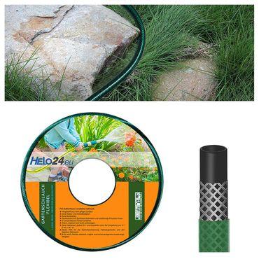 "Gartenschlauch Wasserschlauch Bewässerungsschlauch 25m 3/4"" Zoll grün 0,75€/m – Bild 1"