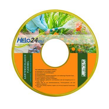 """Gartenschlauch Wasserschlauch Bewässerungsschlauch 25m 1/2"""" Zoll gelb 0,59€/m – Bild 2"""