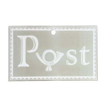 Briefkasten Wandbriefkasten Postkasten inkl. Zeitungsrolle Edelstahl rostfrei M1 – Bild 7