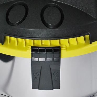 Staubsauger Nass Trocken Industriestaubsauger Industrie Sauger 30L gelb – Bild 6