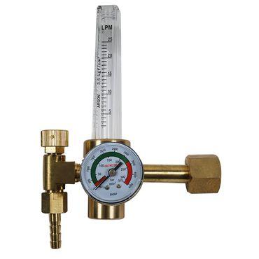 Druckregler Druckminderer Messer Argon CO2 Schutzgas mit Flowmeter Gasflasche – Bild 1