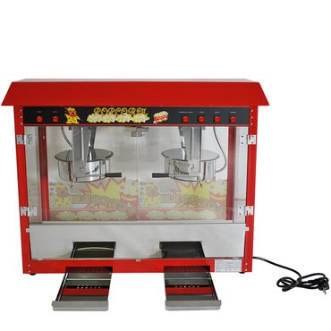 Prof Popcornmaschine XXL mit 2 Töpfen ET-POP6A-2 Popcorn Popcornautomat Kino NEU – Bild 1