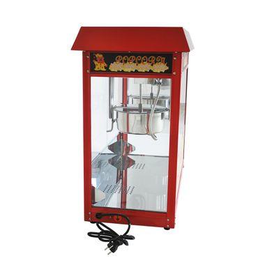 Prof Popcornmaschine XXL mit 2 Töpfen ET-POP6A-2 Popcorn Popcornautomat Kino NEU – Bild 3