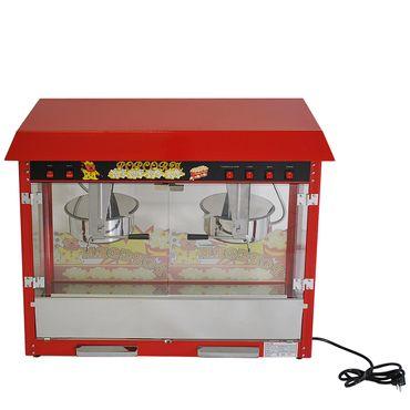 Prof Popcornmaschine XXL mit 2 Töpfen ET-POP6A-2 Popcorn Popcornautomat Kino NEU – Bild 6