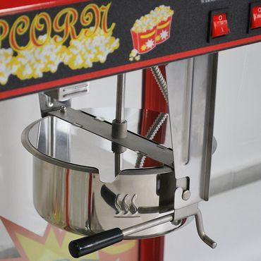 Prof Popcornmaschine XXL mit 2 Töpfen ET-POP6A-2 Popcorn Popcornautomat Kino NEU – Bild 8