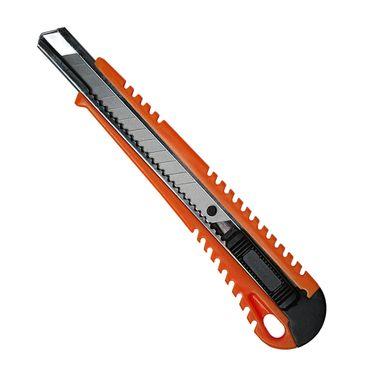 10 Stück Cuttermesser Mehrzweckmesser 9mm orange Teppichmesser Paketmesser – Bild 1