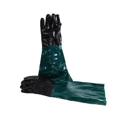 Sandstrahlhandschuhe für 90 Liter Sandstrahlgerät Handschuhe Sandstrahlkabine – Bild 1