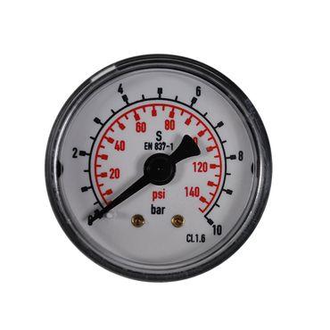 """Manometer waagerecht bar+psi 1/8"""" 1/4"""" 40, 50 und 63mm versch. Anzeigebereiche – Bild 5"""