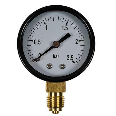 "Manometer senkrecht Vakuummeter verschiedene Typen 50mm Druckluft 1/4"" – Bild 4"
