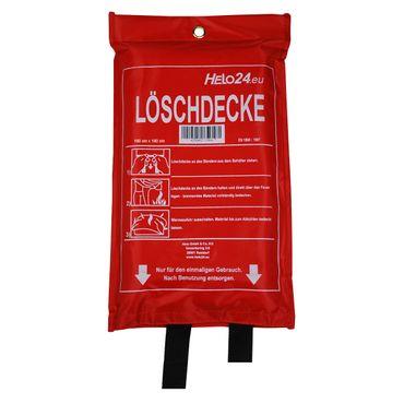 Feuerlöschdecke Löschdecke Feuerdecke Feuerlöscher Fiberglas 1,8x1,8m DIN EN1869 – Bild 1