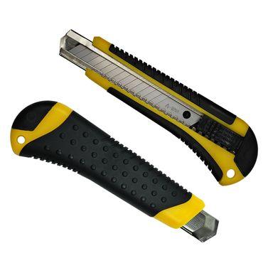 Cuttermesser Teppichmesser Paketmesser Paketmesser 18mm inkl. 3 Abbrechklingen – Bild 10
