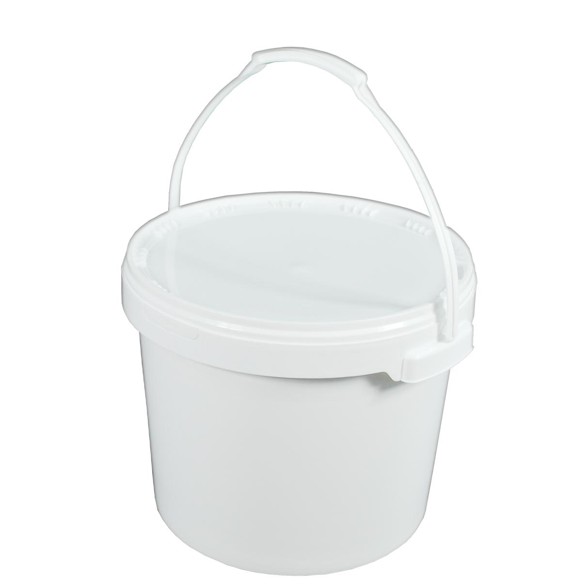 Top Eimer Deckel lebensmittelecht 15 L Liter leer weiß Henkel RE18