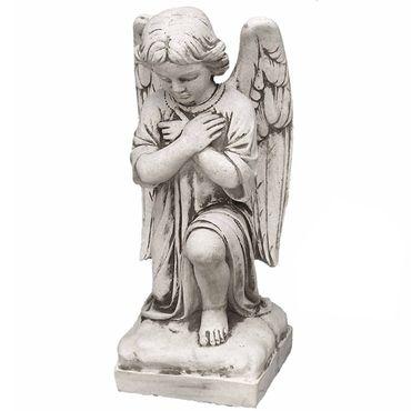 Steinfigur Engel Sandstein Gartenfigur Statue Deko Steinguss (245) – Bild 1