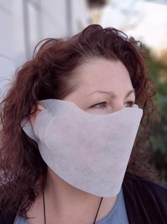100 Stück Mund & Nasenabdeckung, Einwegmaske, Spuckschutz aus Vlies – Bild 1