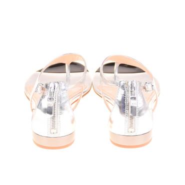 Kennel & Schmenger for Michalsky Damen Sandalen Leder Silber – Bild 3