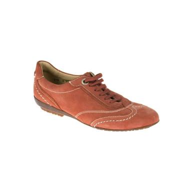 Lottusse Damen Sneaker Leder Rot – Bild 1