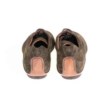 Lottusse Damen Sneaker Wildleder Dunkelgrün – Bild 3