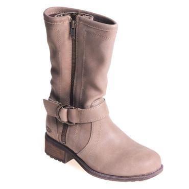 UGG Damen Stiefel Leder Taupe – Bild 1
