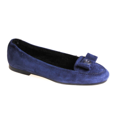 Bogner Damen Halbschuh Wildleder Blau  – Bild 1