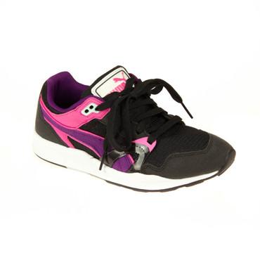 Puma Kinder Sneaker Schwarz/Lila/Pink – Bild 1