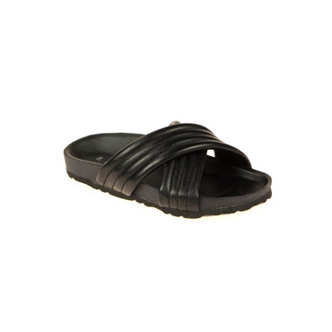 Little Pieces Kinder Sandalen Leder Schwarz – Bild 1