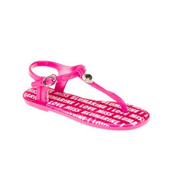Miss Blumarine Kinder Sandale Pink – Bild 1