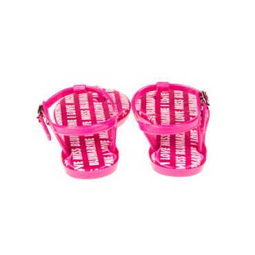 Miss Blumarine Kinder Sandale Pink – Bild 3