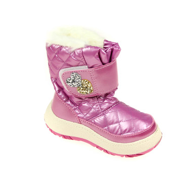 Mepres Kinder Winterstiefel Boots Snowboot gefüttert Rosa – Bild 1