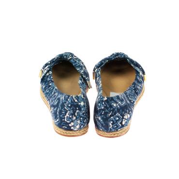 Aerin Damen Ballerina Textil Blau  – Bild 3