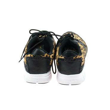 Movie´s Damen Sneaker Leopard Schwarz – Bild 3