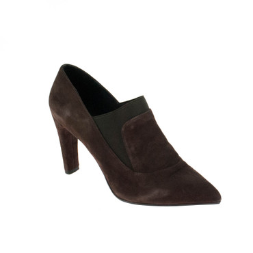 Elvio Zanon Damen Pumps Wildleder Braun – Bild 1