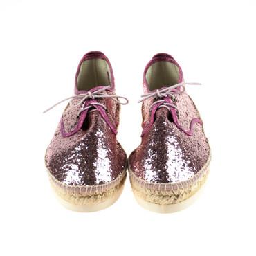 SunZ Damen Halbschuh Espandrillos Textil Pink – Bild 2
