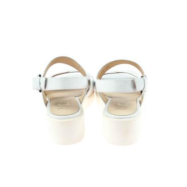 Gadea Damen Sandale Leder Weiß – Bild 3